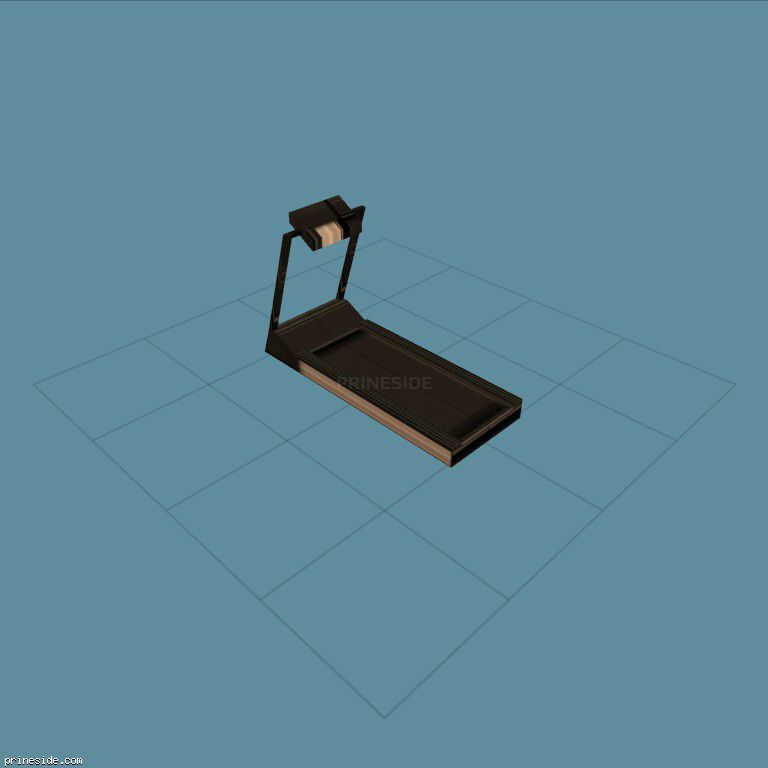 gym_treadmill [2627] on the dark background