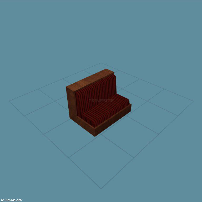 Upholstered chair for public places (CJ_DONUT_CHAIR2) [2748] on the dark background