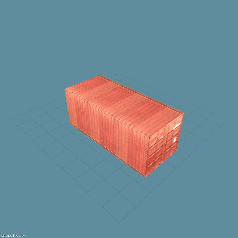 kmb_container_red [2934] on the dark background