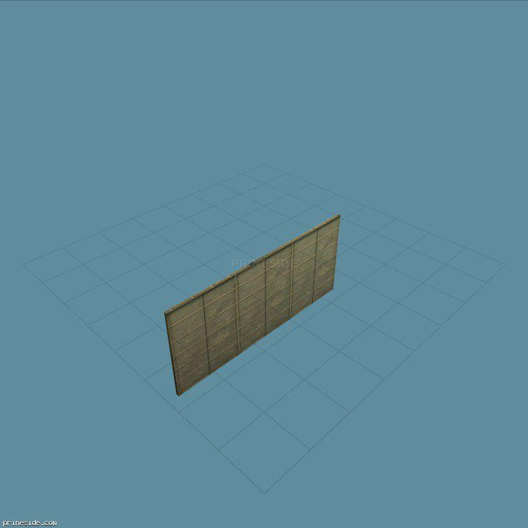 Большие гаражные ворота (md_lockdoor) [3033] на темном фоне