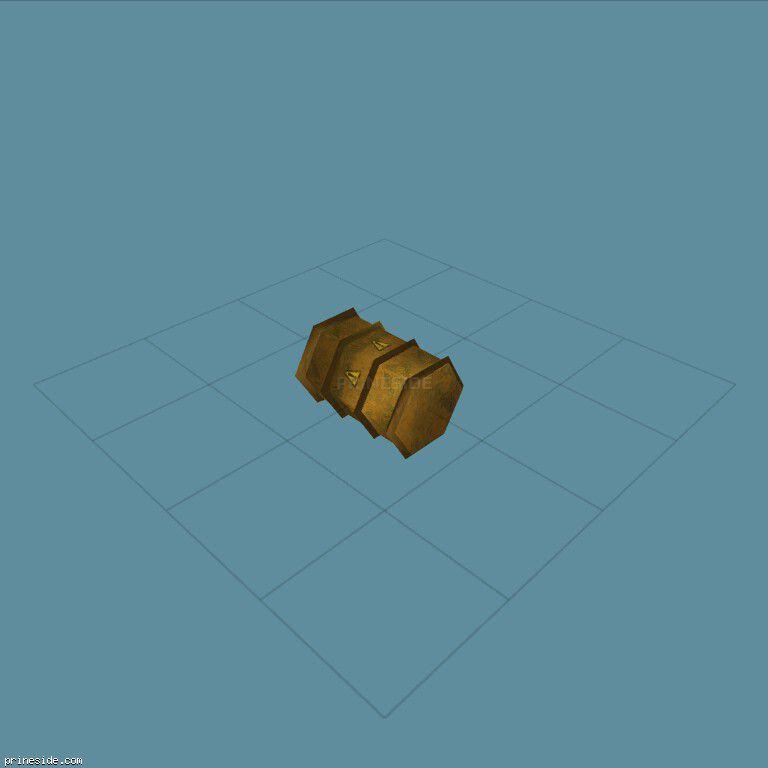 A barrel of fuel (kb_barrel) [3046] on the dark background