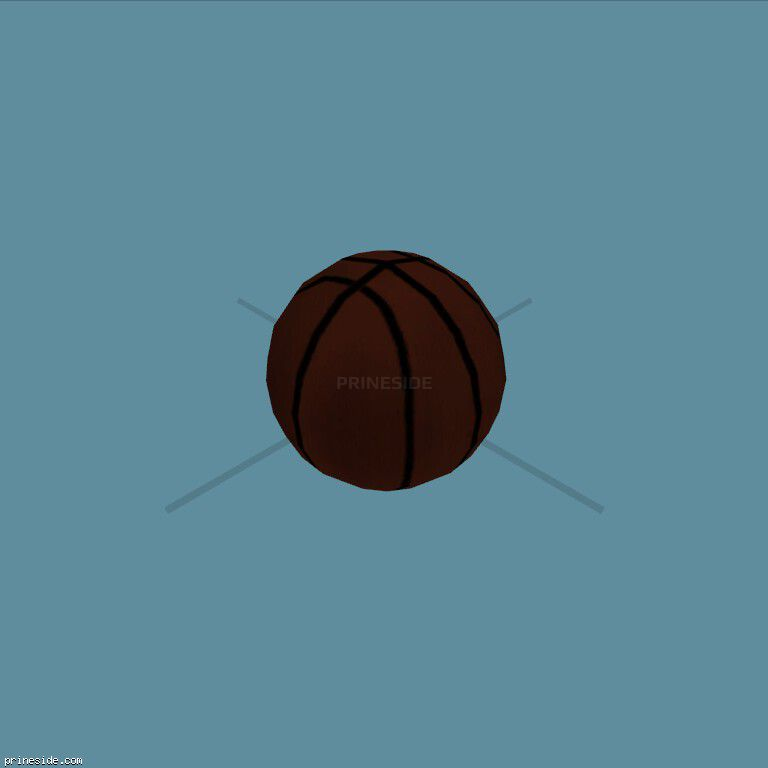 Basketball ball (BBALL_col) [3065] on the dark background