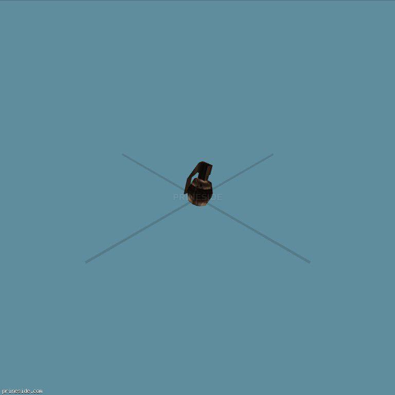 grenade [342] on the dark background