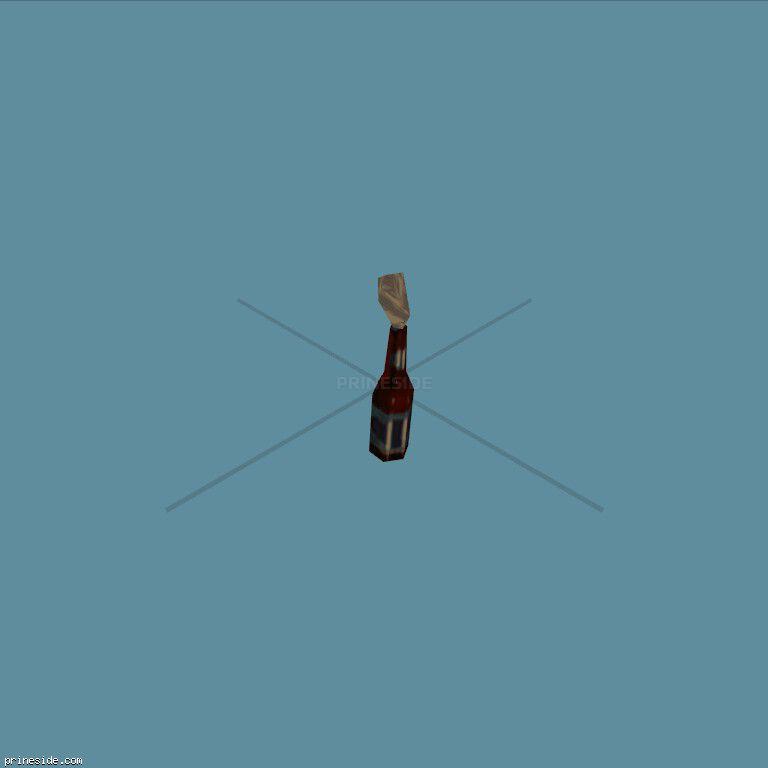 A Molotov Cocktail (molotov) [344] on the dark background
