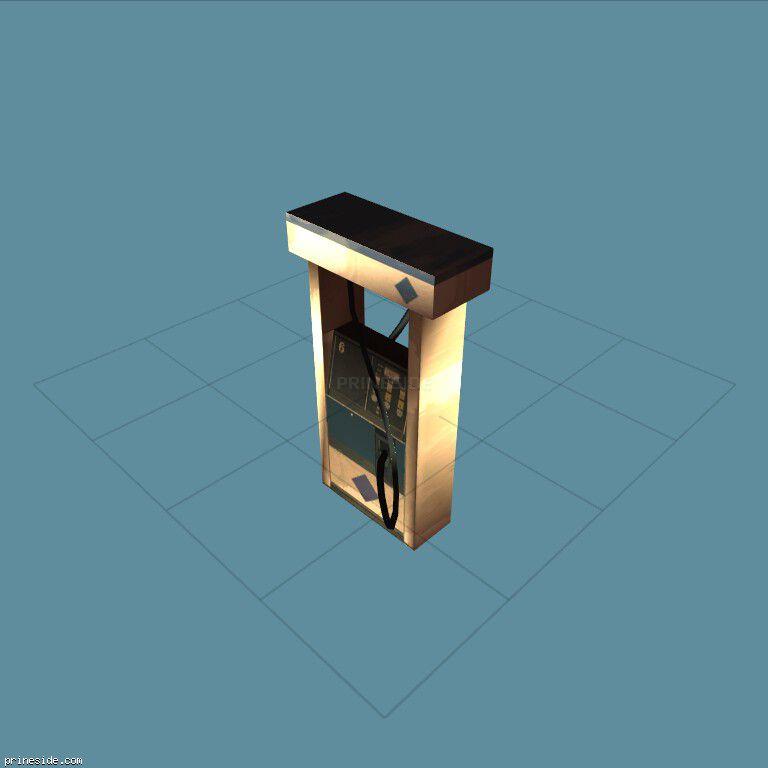 Бензоколонка (vegspetrolpump) [3465] на темном фоне