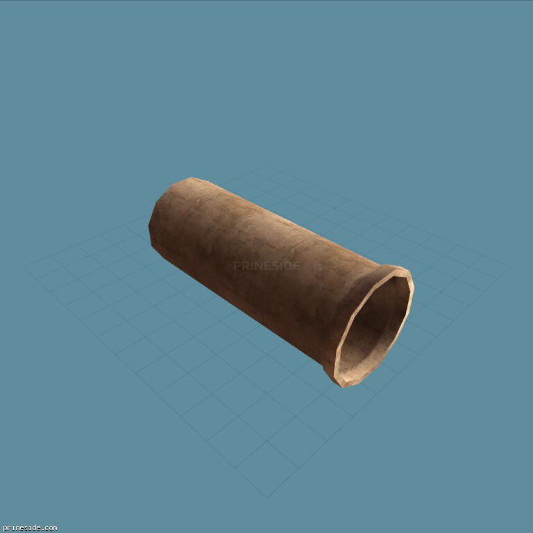 A large concrete pipe (vgsN_con_tube) [3502] on the dark background
