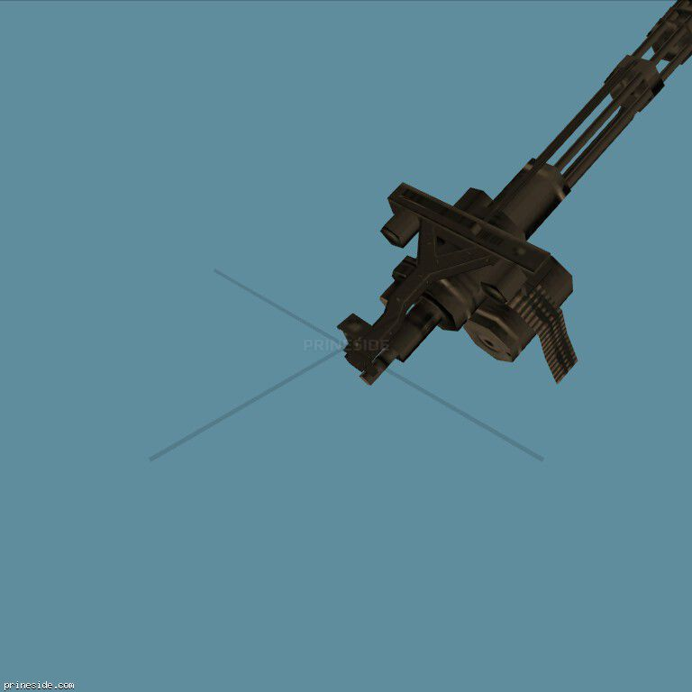 Minigun (minigun) (minigun) [362] on the dark background