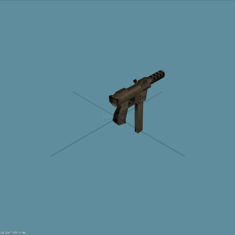 Intratec TEC-9 (tec9) [372] on the dark background