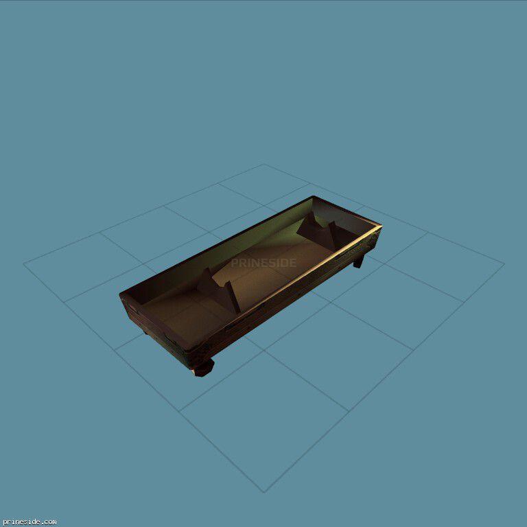 Контейнер для большой ракеты (missile_03_SFXR) [3788] на темном фоне