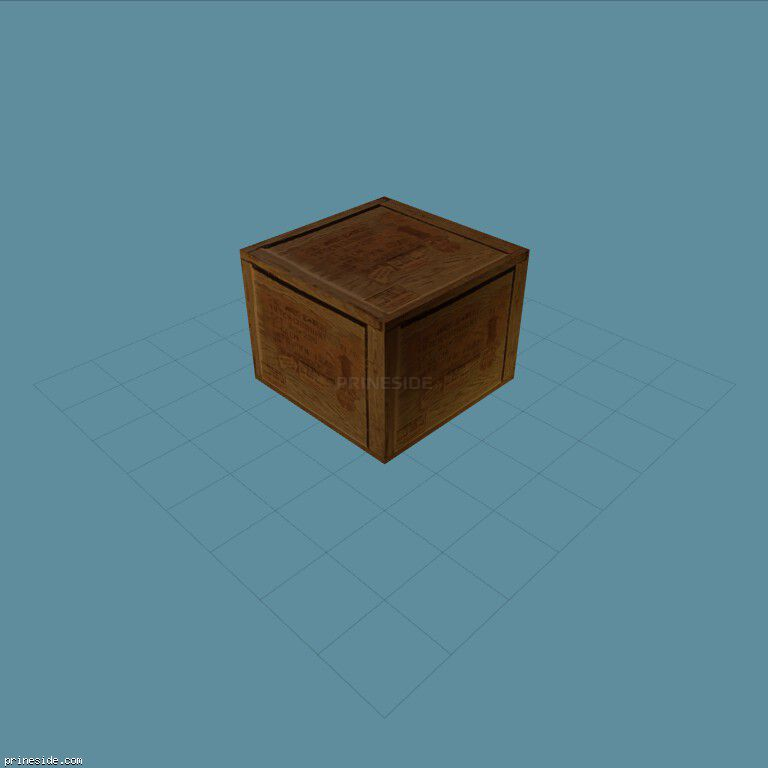 Wooden box (acbox2_SFS) [3799] on the dark background