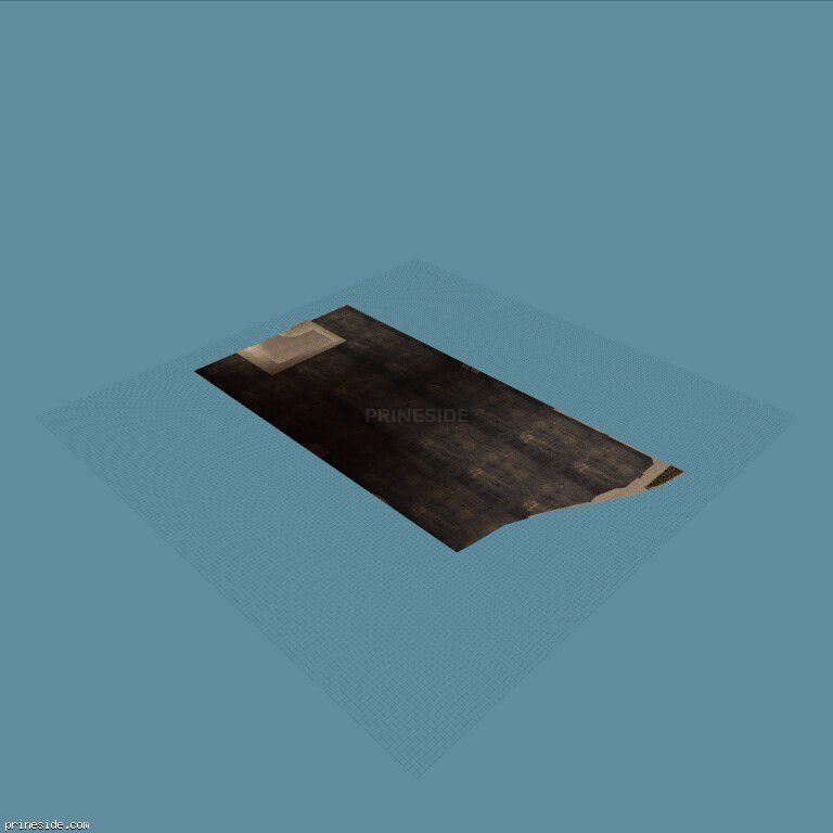 Ровная темная площадка (figfree1_LAn) [4010] на темном фоне
