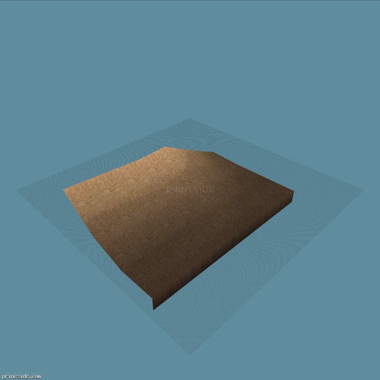 Sand part of the landscape (sbcs_landbit_77) [4294] on the dark background