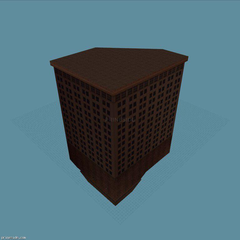 Многоэтажное здание (stolenbuilds11) [4572] на темном фоне