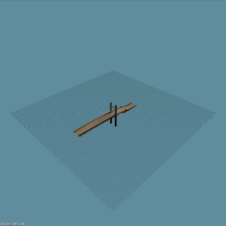 sanpedbigbrid_las2 [5147] on the dark background