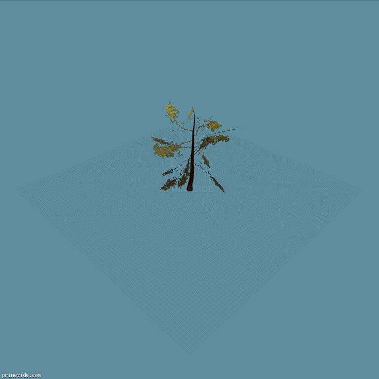 tree_hipoly11 [733] on the dark background