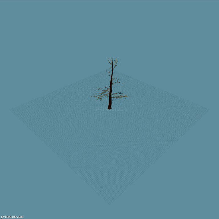 tree_hipoly09b [735] on the dark background