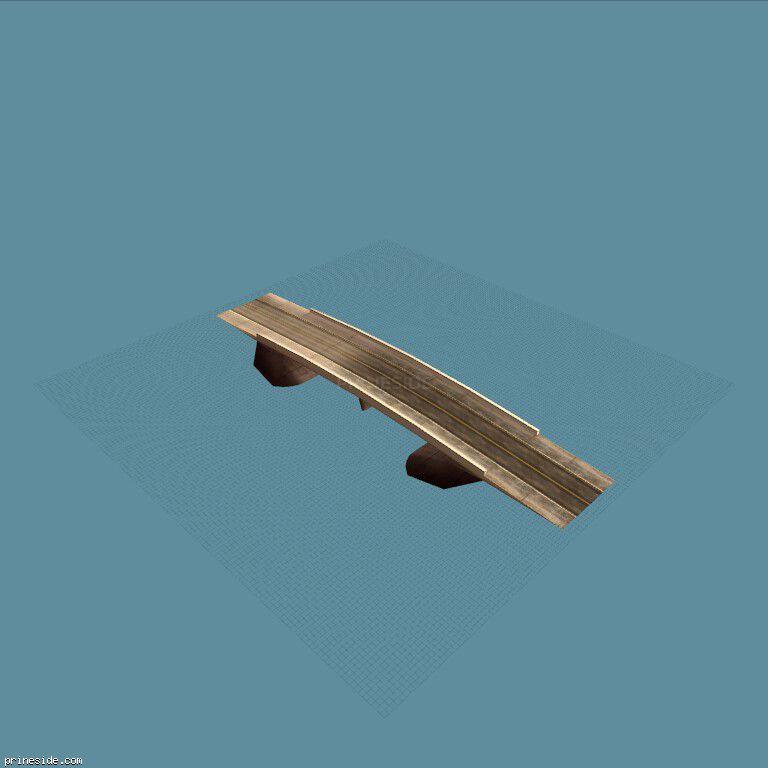 A small bridge (vegasNroad39) [7445] on the dark background