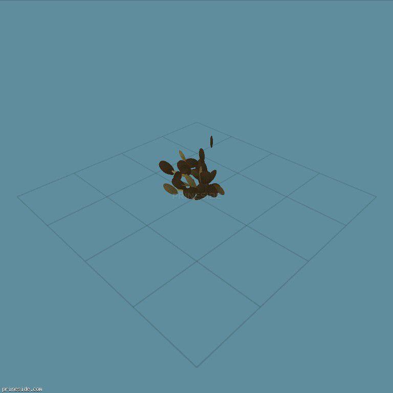 Небольшой кактус (sm_des_pcklypr2) [756] на темном фоне