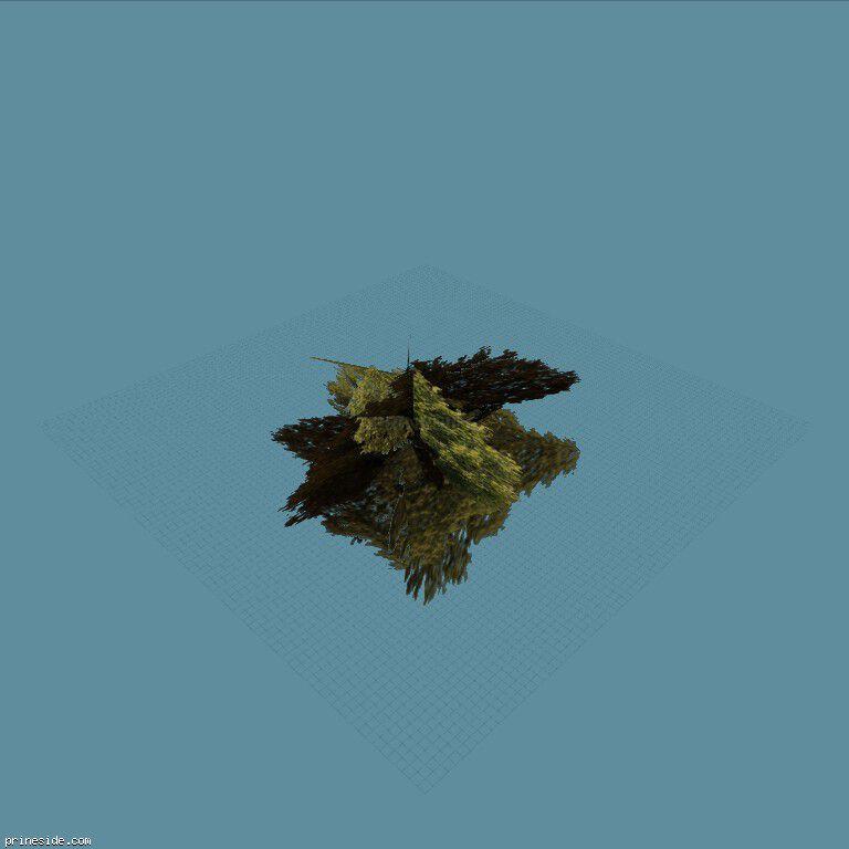 Большой куст (hashburytree4sfs) [789] на темном фоне