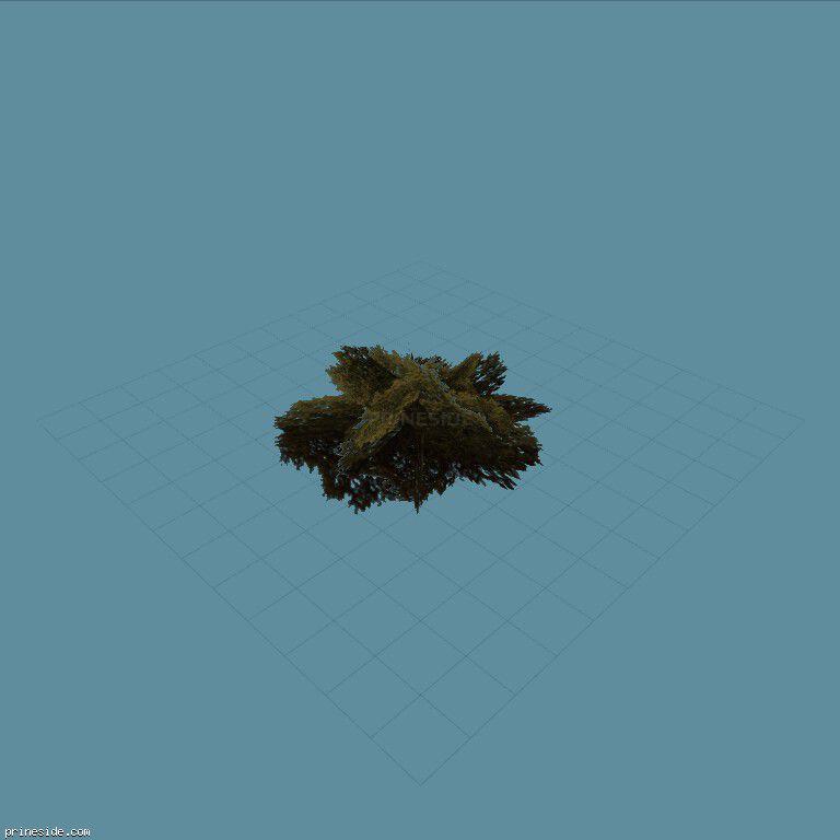 genVEG_bush09 [803] on the dark background