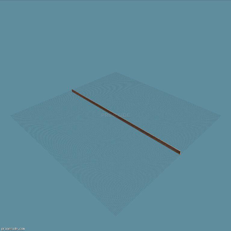 Длинный кирпичный забор (vgsSredbrix02) [8185] на темном фоне