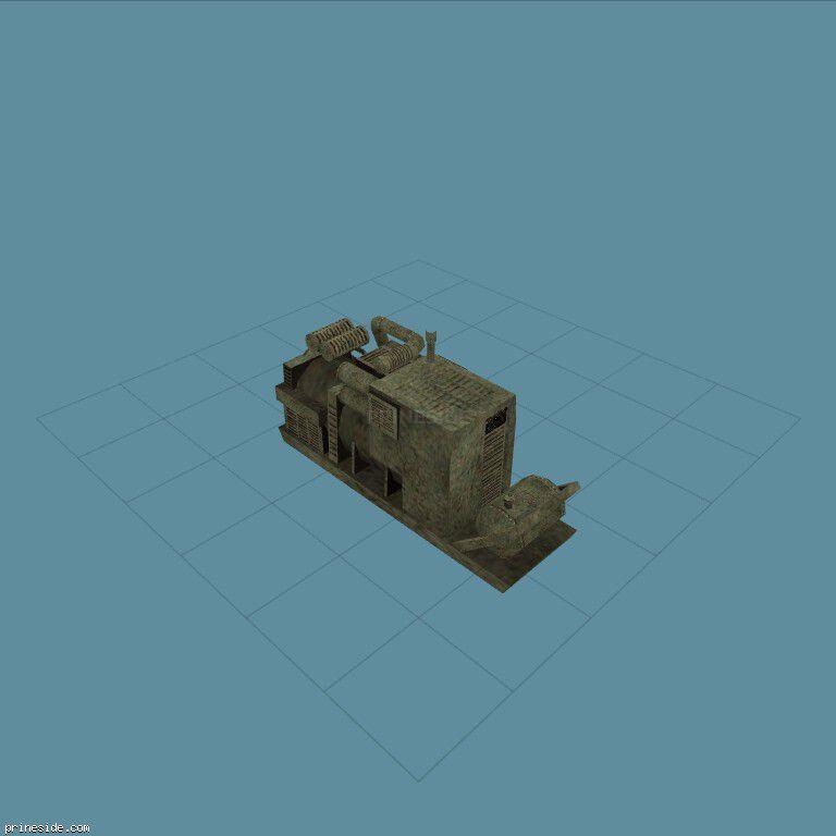 Big generator (GENERATOR) [929] on the dark background