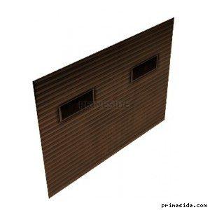 Дверь от ворот гаража, где устанавливается взрывчатка на транспорт (bombdoor02) [10149] на светлом фоне