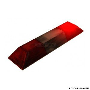 Light (flashers) from the police car or ambulance (AmbulanceLights1) [11701] on the light background