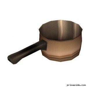 Турка для заварки кофе (SweetsSaucepan1) [11718] на светлом фоне