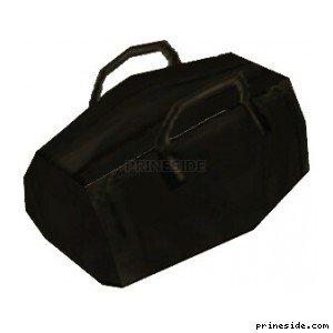 Big black bag (HoldAllEdited1) [11745] on the light background