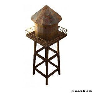 Башня для хранения воды (sw_watertower01) [13367] на светлом фоне