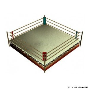 Boxing ring (in_bxing05) [14781] on the light background