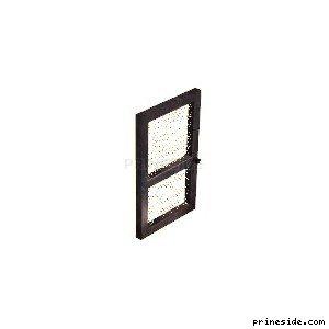 Lattice door (Gen_doorEXT01) [1495] on the light background