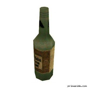 A bottle of wine (DYN_WINE_3) [1509] on the light background
