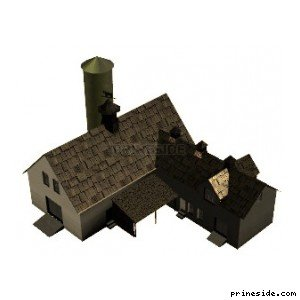 farmhouse01 [17008] on the light background