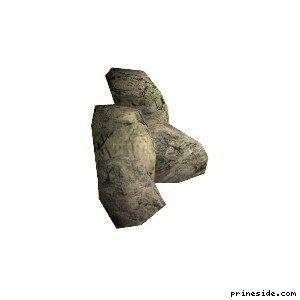 Два больших камня (cunt_rockgp1_) [17025] на светлом фоне