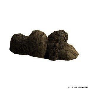 A number of big stones (cunt_rockgp2_) [17026] on the light background