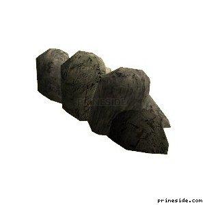 Большие камни (cunt_rockgp2_13) [17031] на светлом фоне