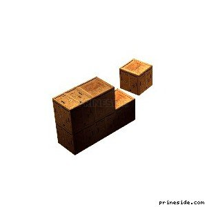 crates [18257] on the light background