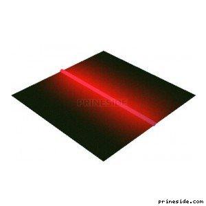 RedNeonTube1 [18647] on the light background