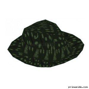 Серая шляпа (HatBoater2) [18945] на светлом фоне