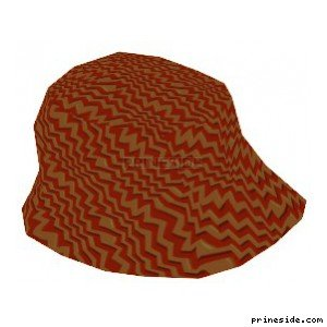 Mens hat yellow-orange color (HatMan3) [18969] on the light background