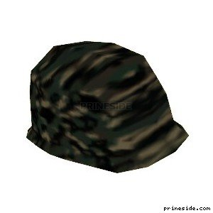 Army camouflage helmet (ArmyHelmet7) [19107] on the light background