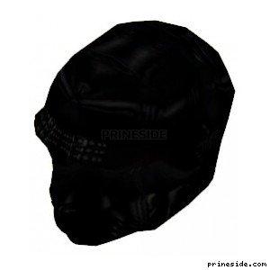 Black mask on his head (GimpMask1) [19163] on the light background