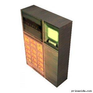 Домофон или блок управления с клавиатурой (KeypadNonDynamic) [19273] на светлом фоне