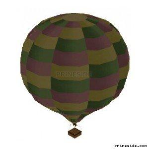 Balloon (Hot_Air_Balloon06) [19337] on the light background