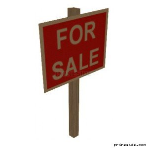 The For Sale Sign. (forsale01) [19470] on the light background