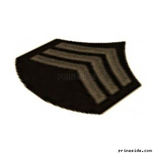 Shoulder patch Chevron Sergeant (InsigniaSergeant1) [19781] on the light background