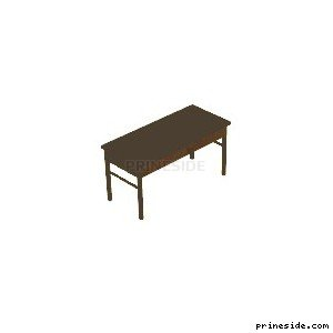 Small table (CJ_BED_FURN_1b) [2333] on the light background