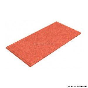 Light red carpet (gym_mat1) [2631] on the light background